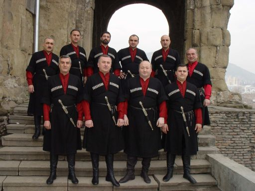 Ensemble Tbilisi - world famous Georgian men's choir