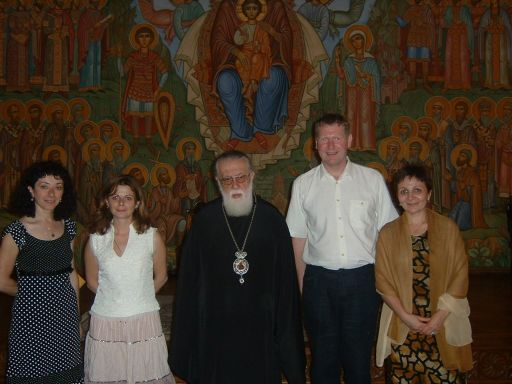 In meeting with the Patriarch of Georgia, Ilia II